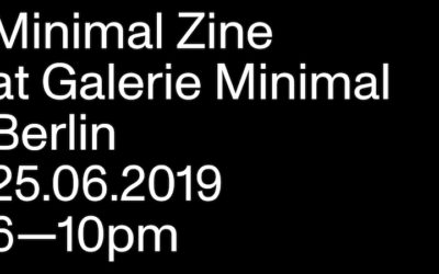 Minimal Zine #1 Release