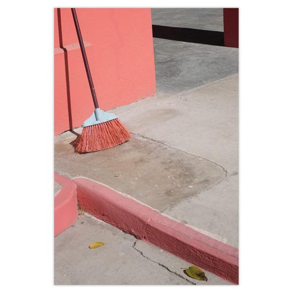 Pink Broom Natalie Christensen Galerie Minimal